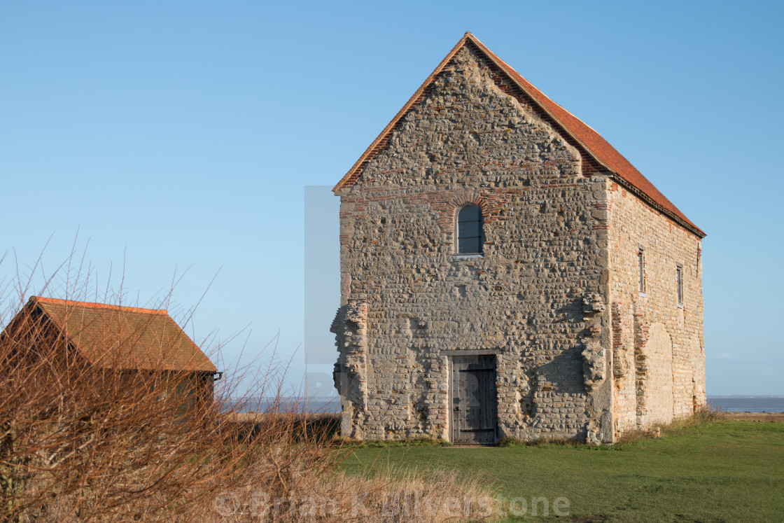 """Saint Peter's Chapel"" stock image"
