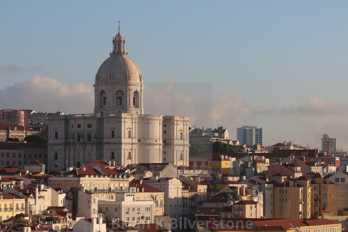 """Lisbon Sunrise"" stock image"