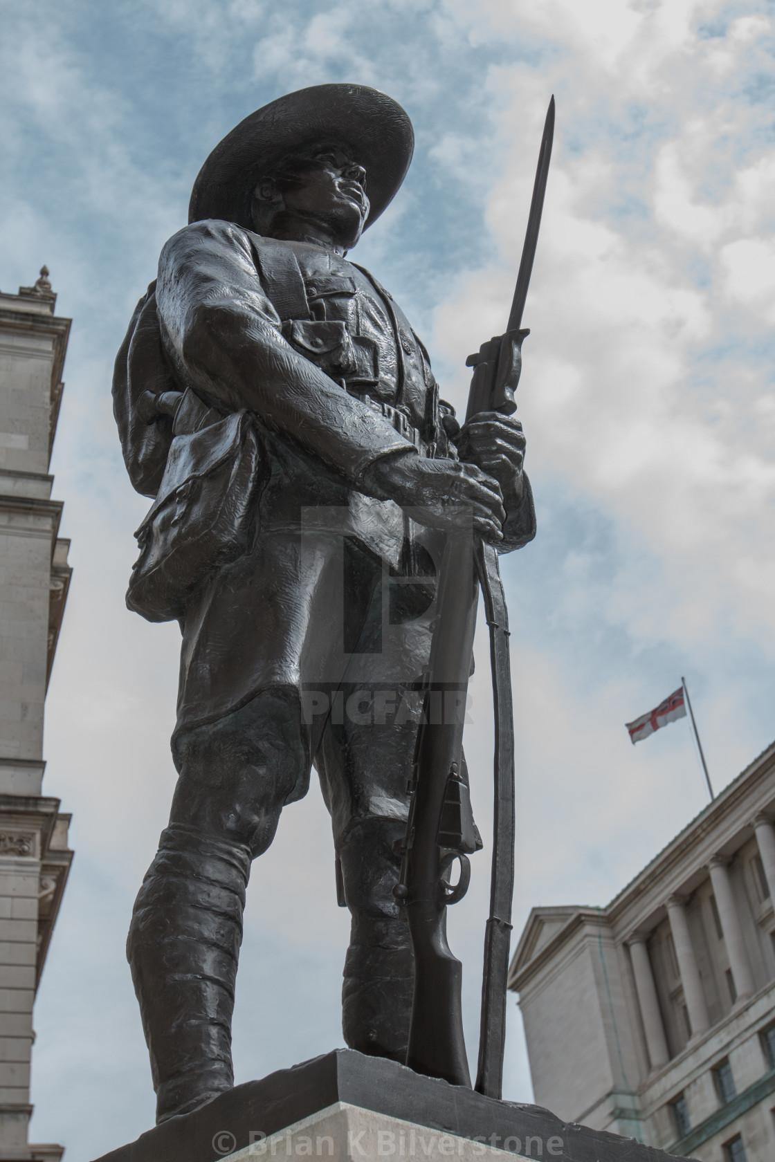"""""""Gurkha Memorial"""" stock image"""