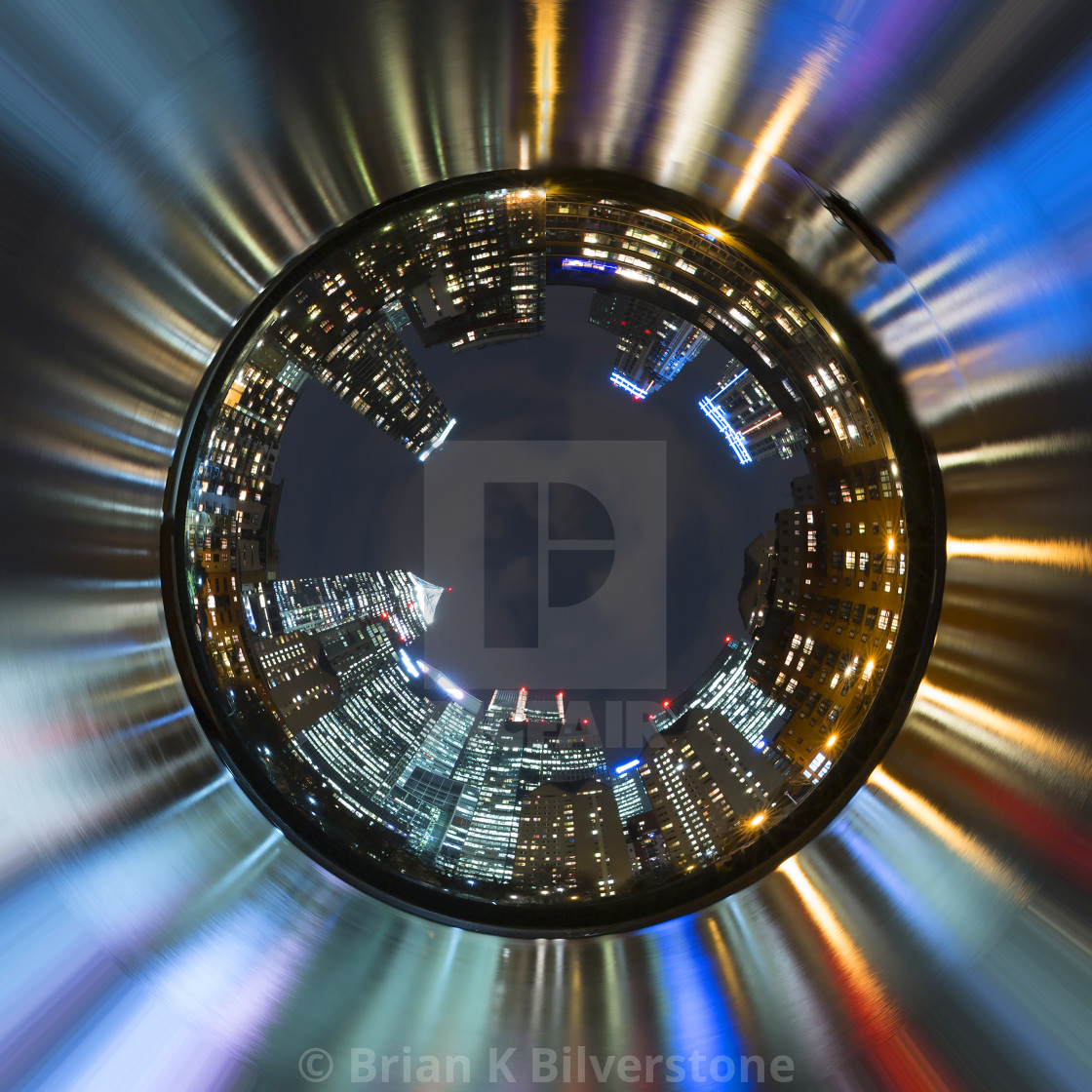 """Isle of Dogs Little Planet"" stock image"