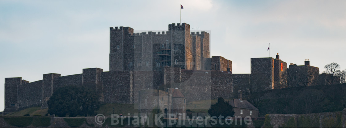 """Dover Castle Morning"" stock image"