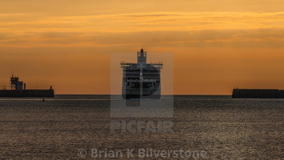"""Dawn Ferry"" stock image"