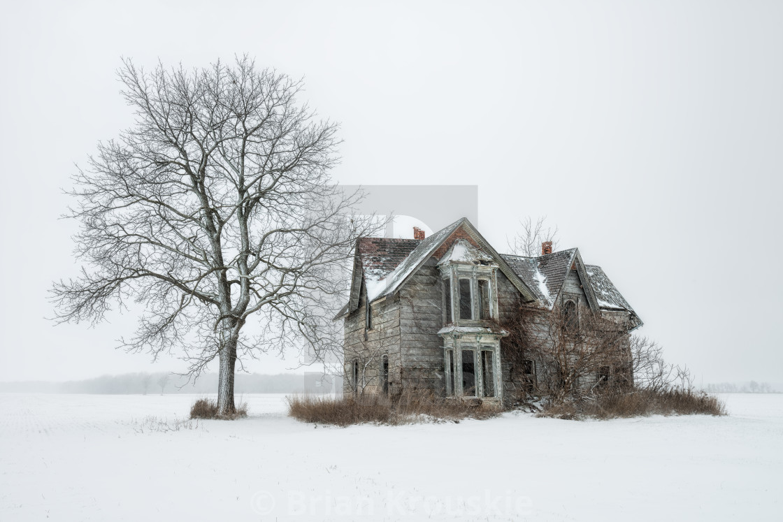 """Cold and Abandoned"" stock image"