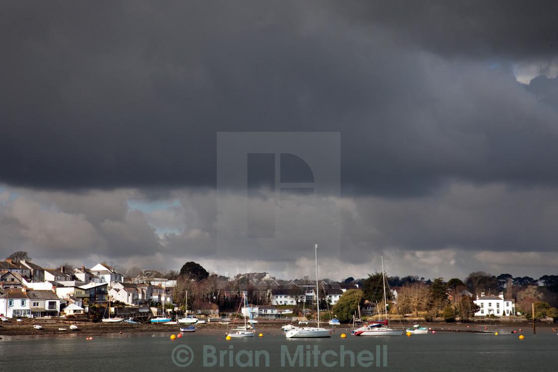 """Storm Breaking"" stock image"