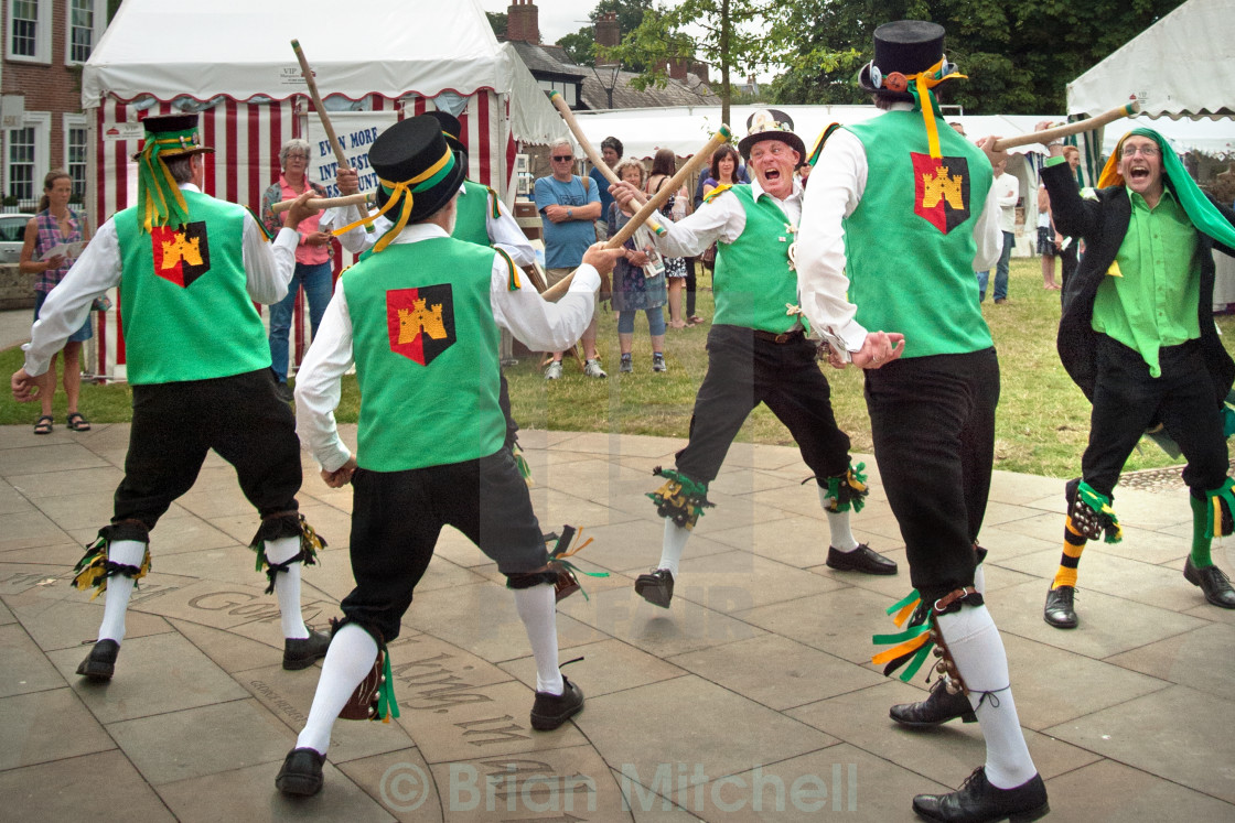 """Morris Men"" stock image"