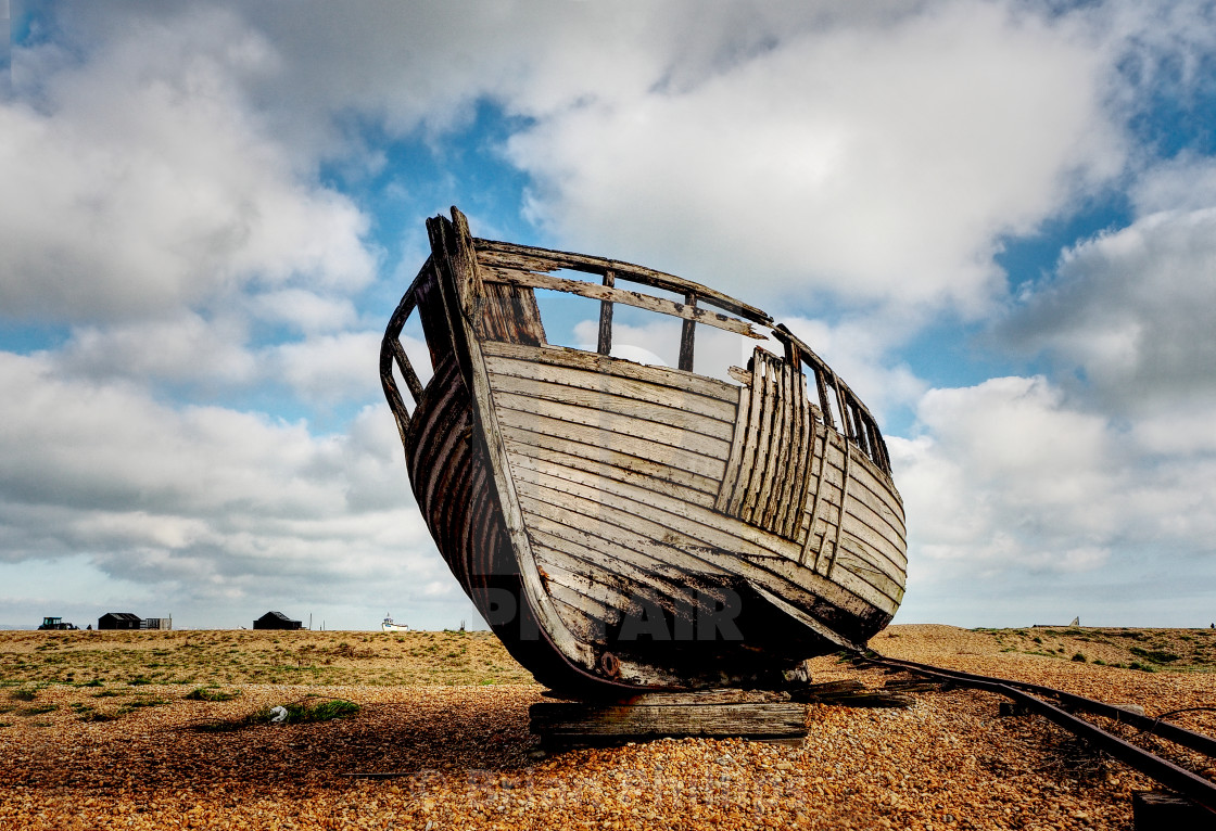 """Dungeness, Kent, UK"" stock image"