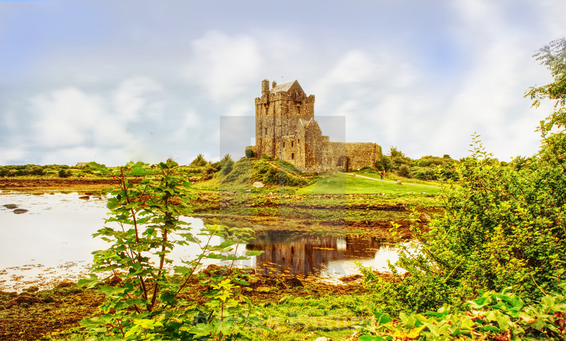 """""""Dunguaire Castle County Galway"""" stock image"""