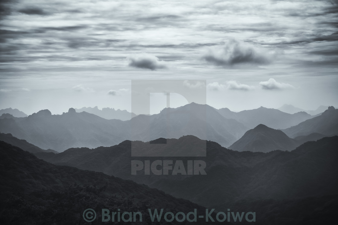 """Usui Pass Vista"" stock image"