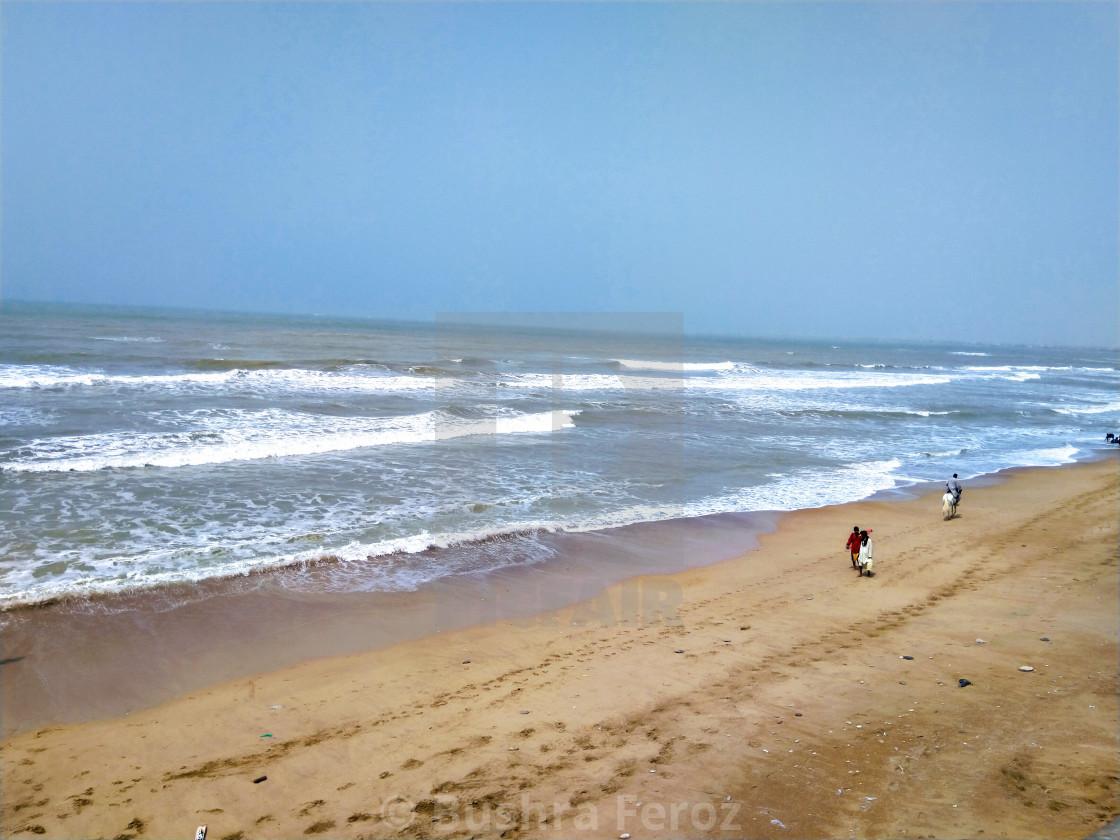 Karachi sea coast - License, download or print for £12 40