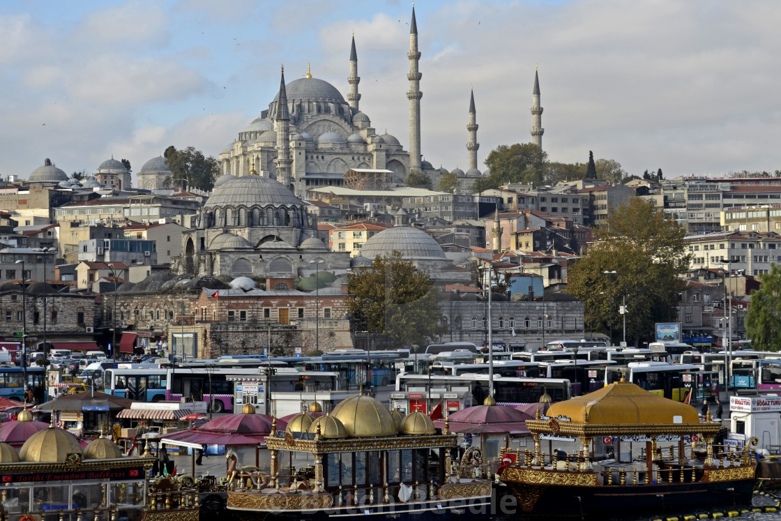 Blue Mosque or Sultan Ahmed Mosque, Istanbul, Turkey