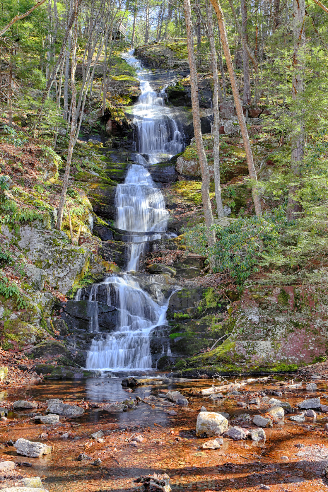 """Buttermilk Falls"" stock image"
