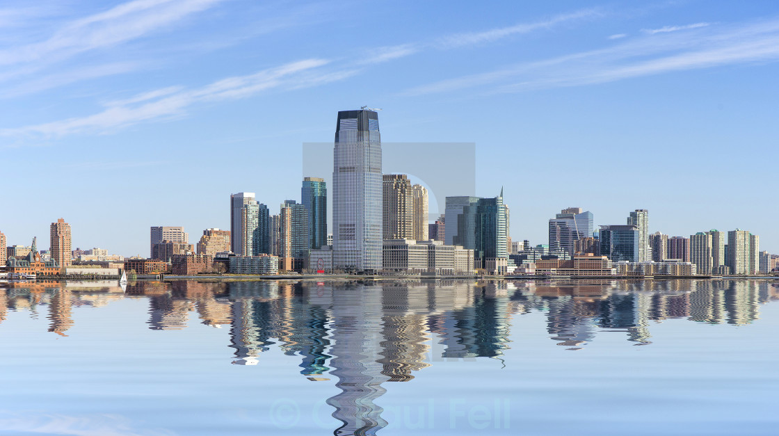 """Jersey City"" stock image"