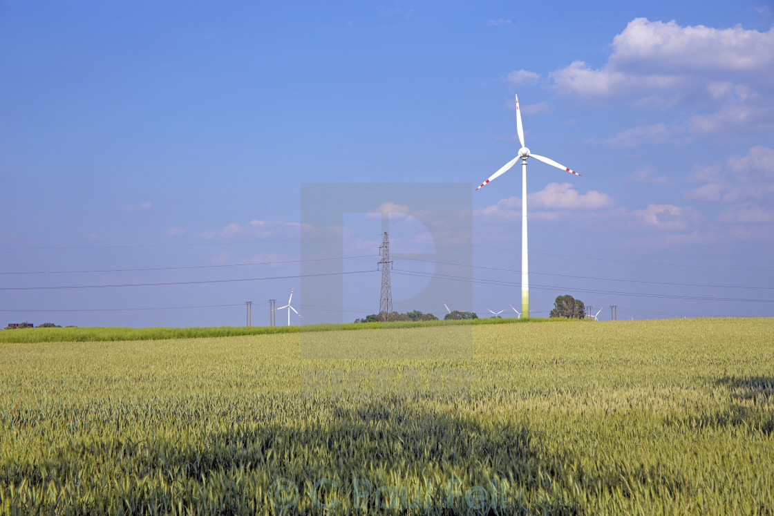 """Windpower"" stock image"