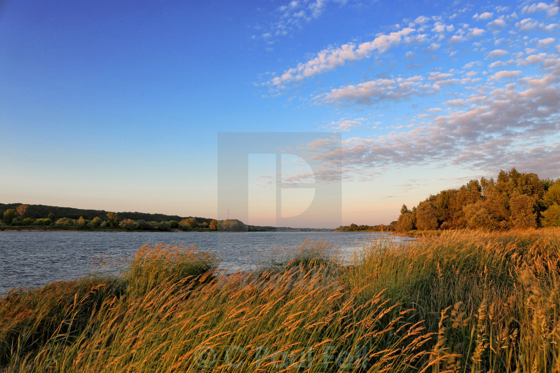 """Wisla Sunset"" stock image"