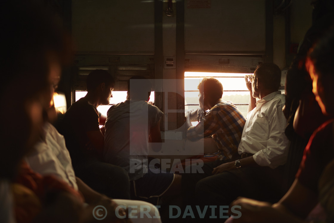 """Shared seats"" stock image"