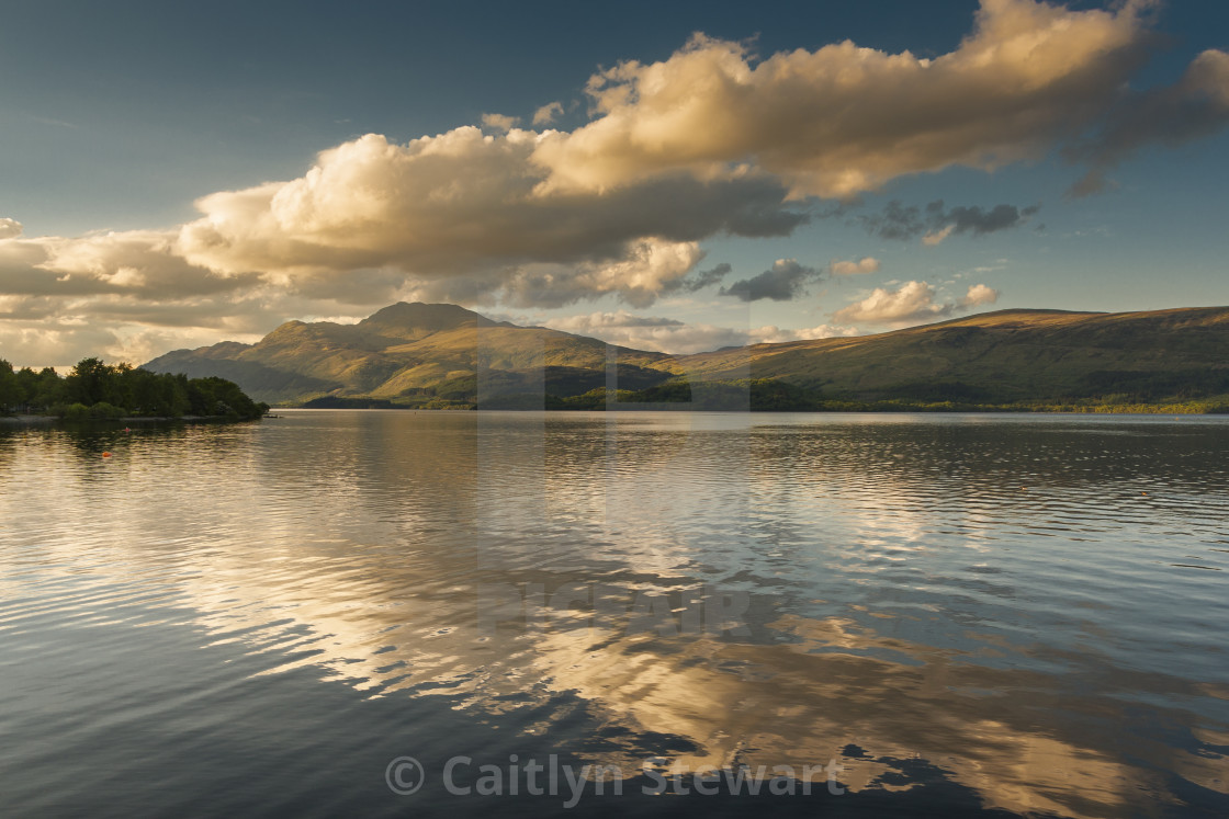 """Ben Lomond, Scotland"" stock image"
