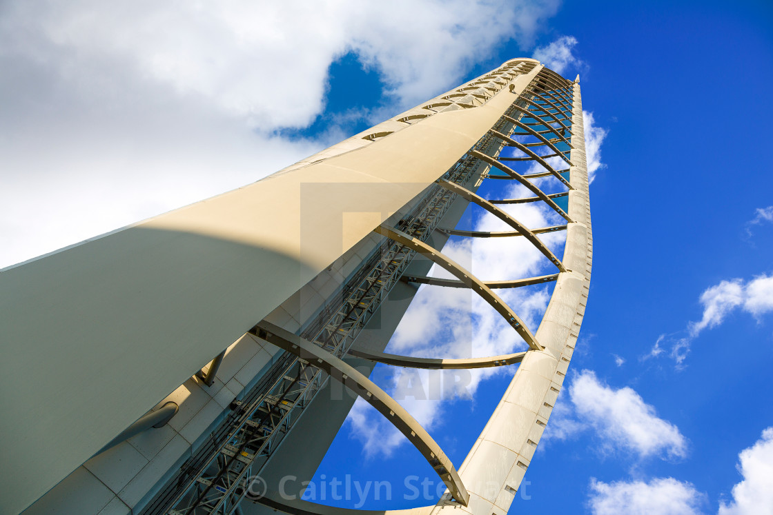"""Glasgow Tower, Scotland"" stock image"