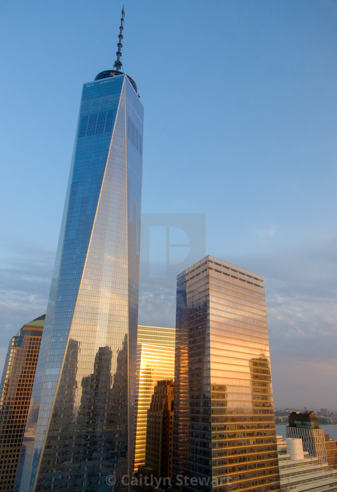"""""""One World Trade Centre, NYC"""" stock image"""