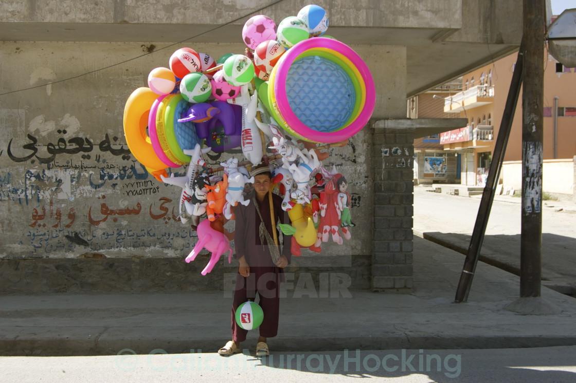 """Inflatableboy Kabul"" stock image"