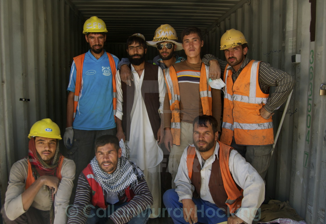 """""""Grafters-Kabul"""" stock image"""