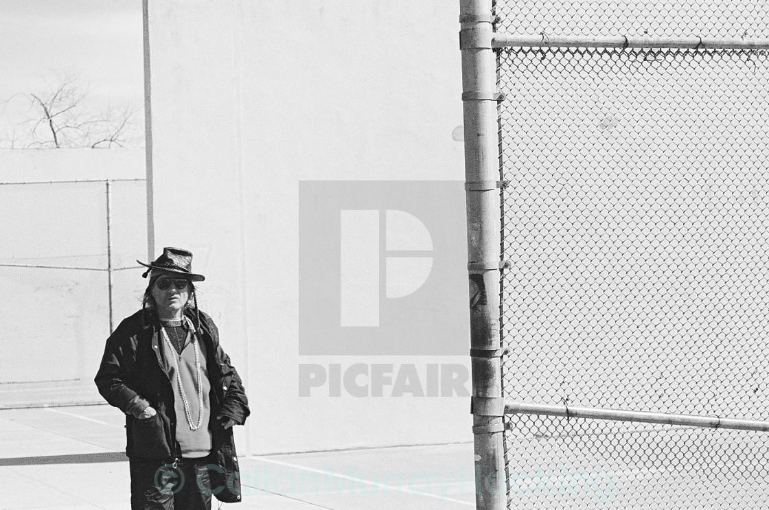 """Man - Coney Island"" stock image"