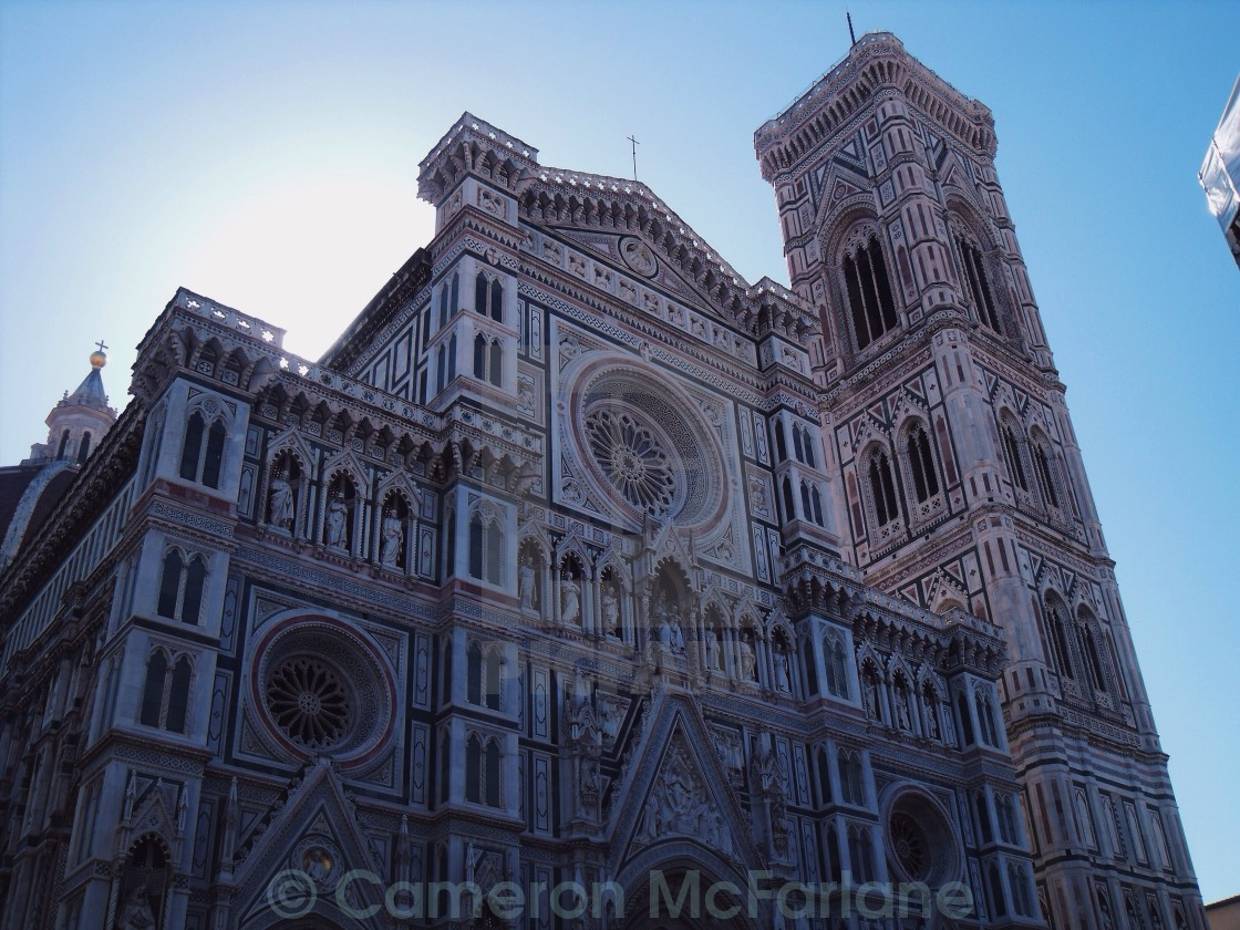 """Cathedral of Santa Maria del Fiore"" stock image"
