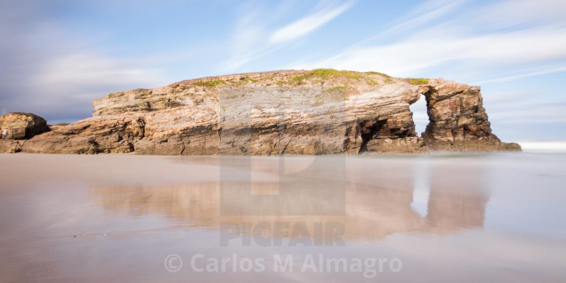 """""""Playa de las Catedrales 10"""" stock image"""