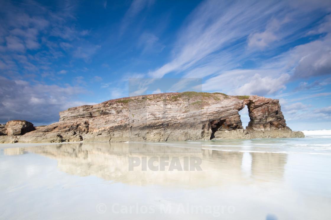 """""""Playa de las Catedrales 9"""" stock image"""