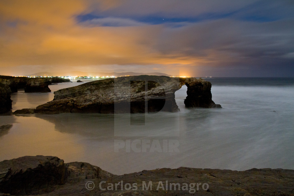 """Playa de las Catedrales 6"" stock image"