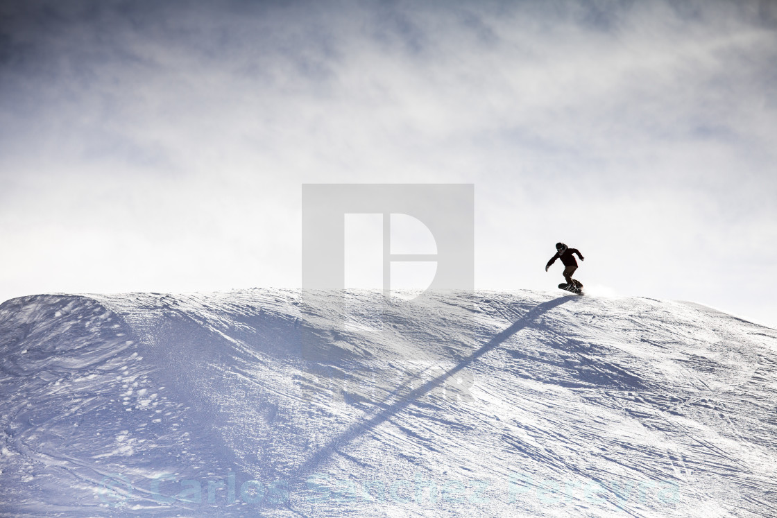 """Ski at Kühtai"" stock image"