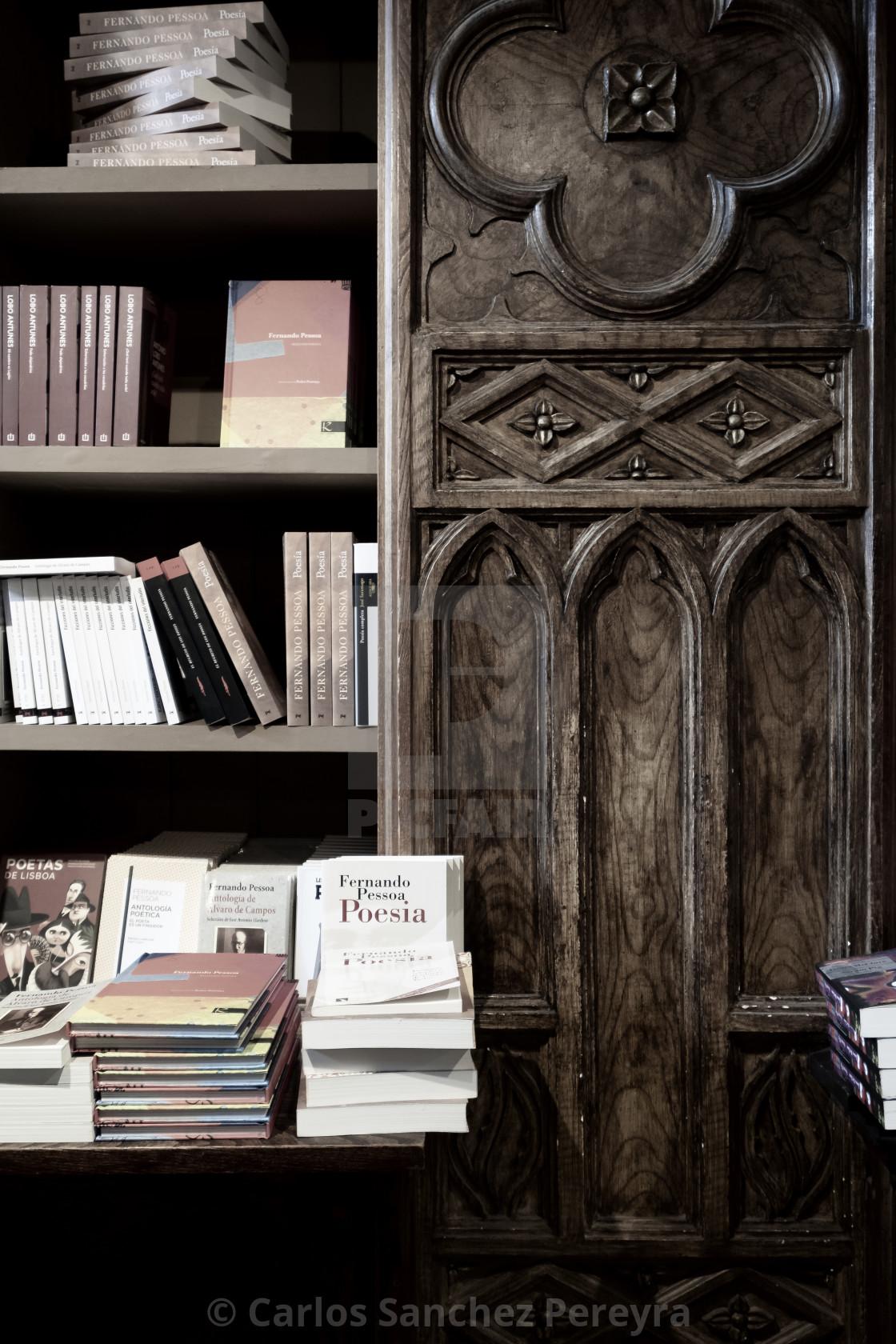 """""""Famous bookstore in Porto"""" stock image"""