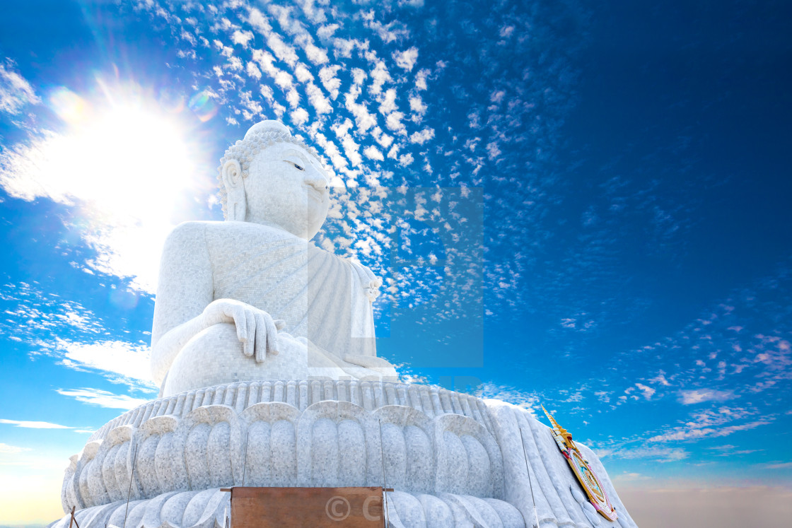 """""""Exotic travels and adventures .Thailand trip.Buddha and landmarks"""" stock image"""