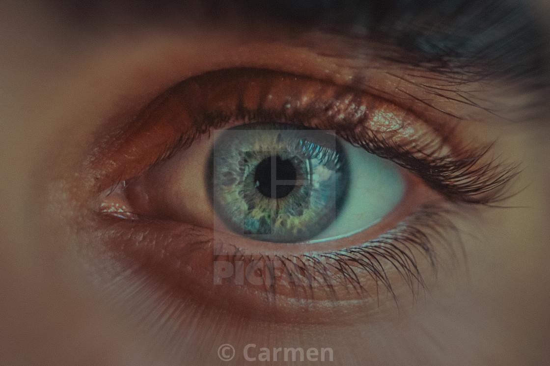 """""""Ocean eyes"""" stock image"""