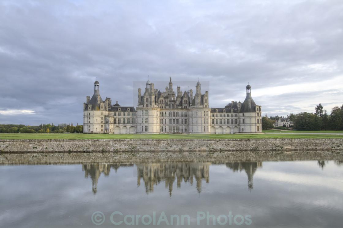 """""""Chambord Chateau"""" stock image"""