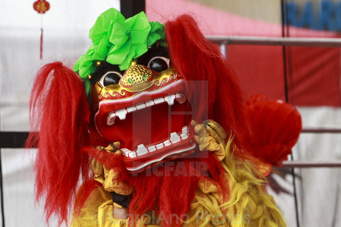 """Chinese dragon"" stock image"