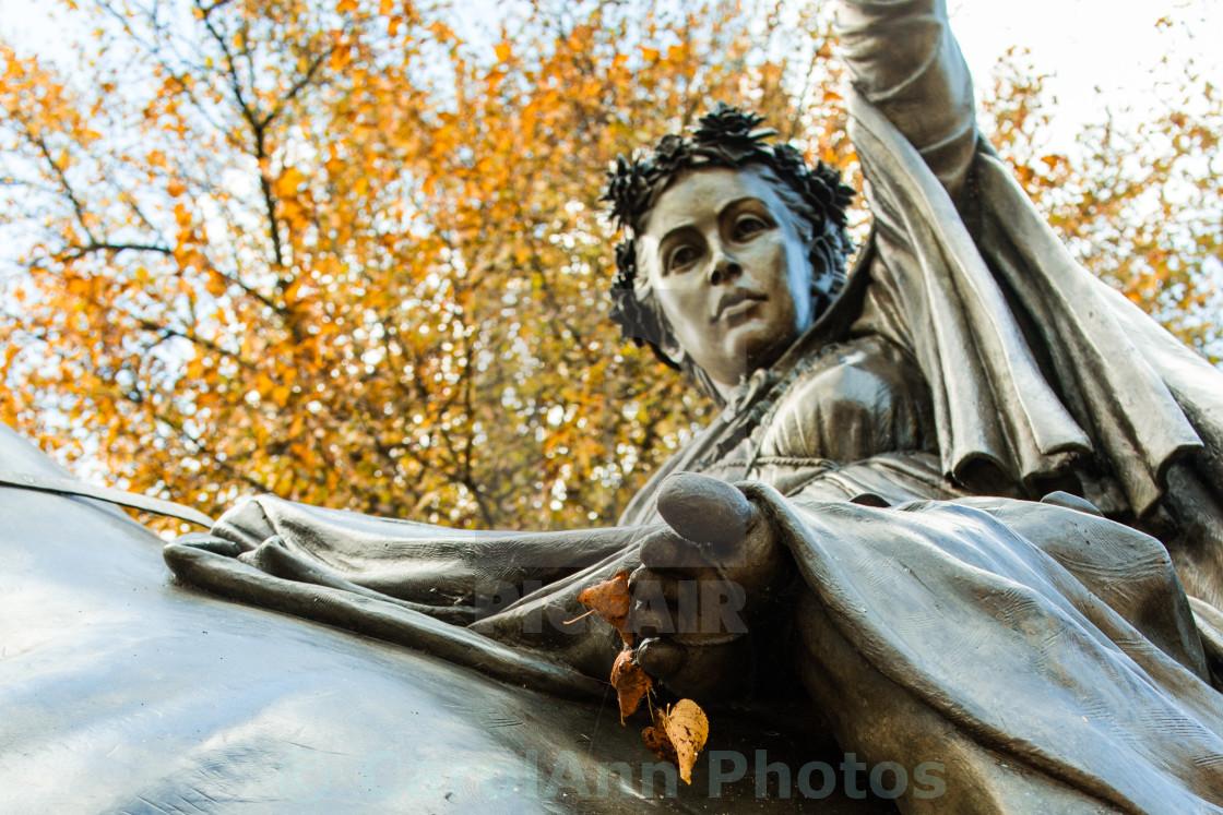 """Autumnal Fine Lady"" stock image"