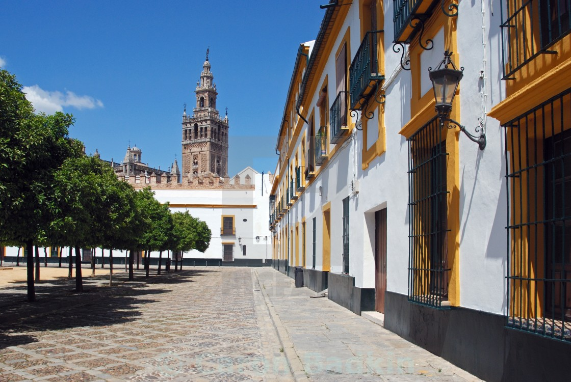 Patio De Las Banderas Seville Spain License Download Or Print