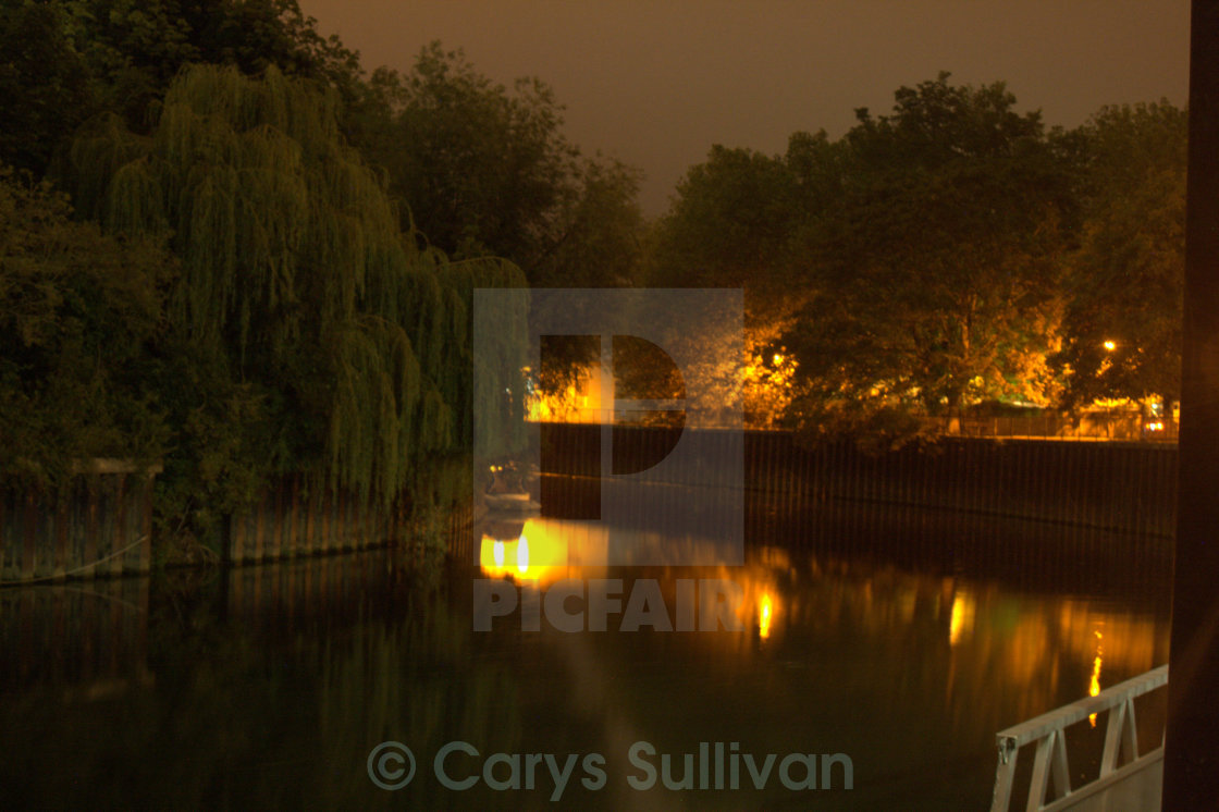 """Bath Canal"" stock image"