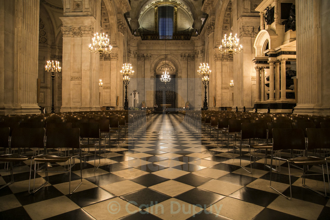 """""""St Paul's Cathedral"""" stock image"""