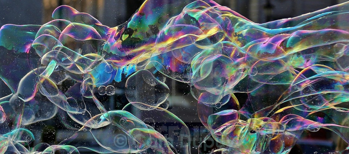 """Bubbles"" stock image"