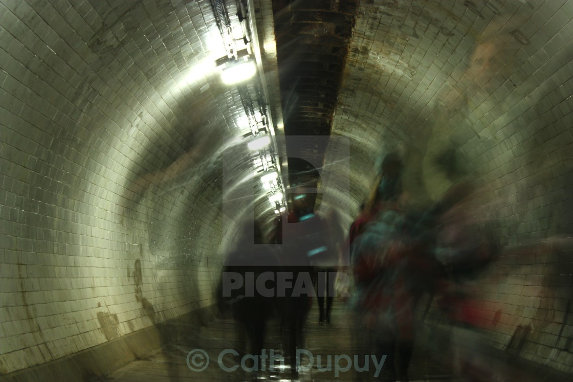 """""""Greenwich Foot Tunnel"""" stock image"""