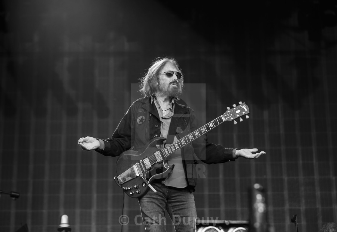 """""""Tom Petty and the Heartbreakers"""" stock image"""