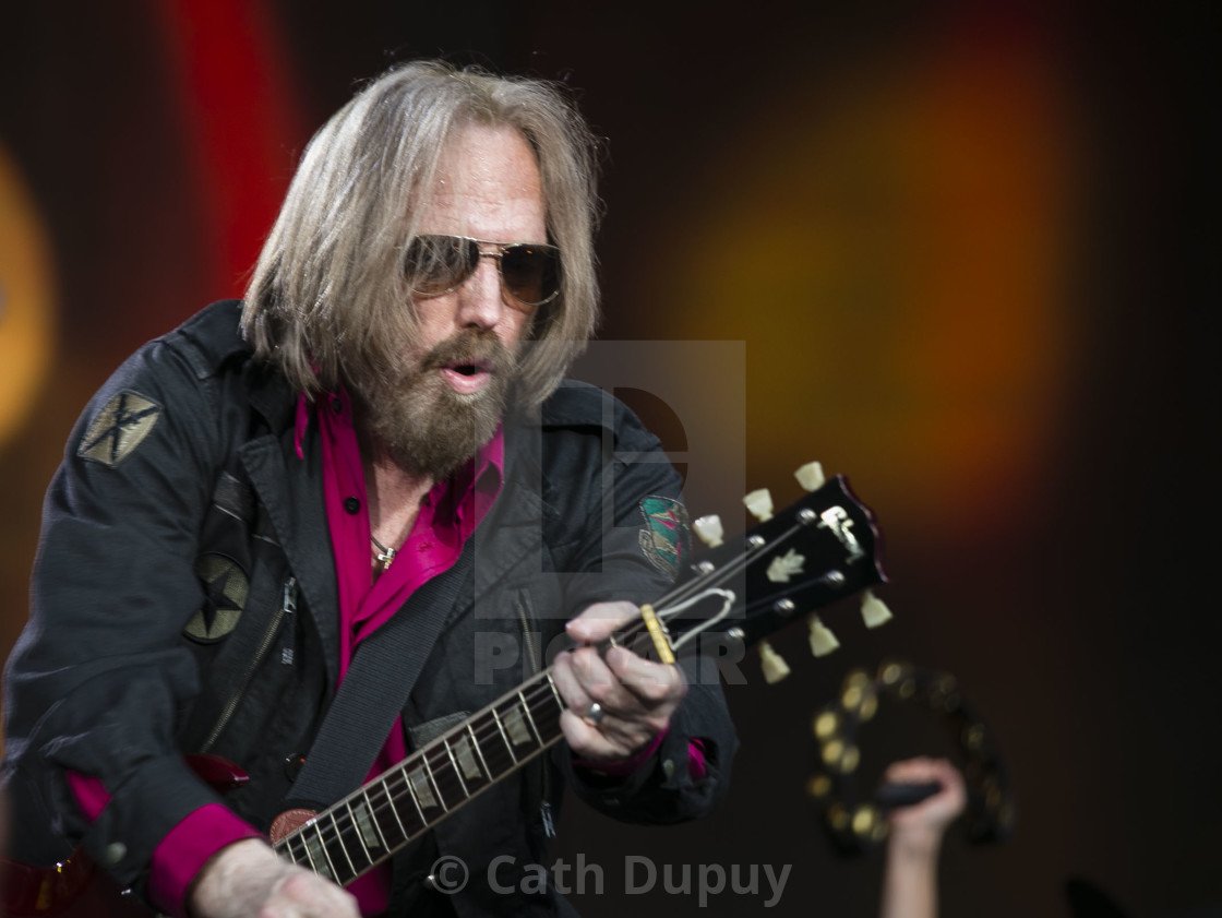 """Tom Petty and the Heartbreakers"" stock image"