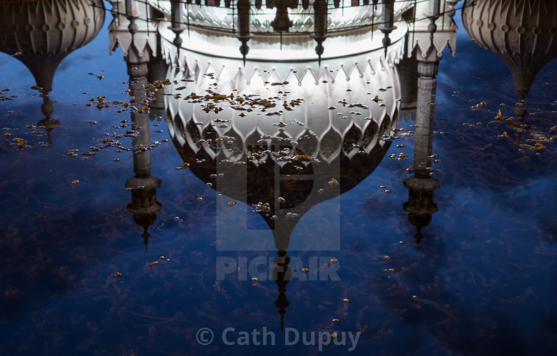 """Royal Pavilion, Brighton"" stock image"