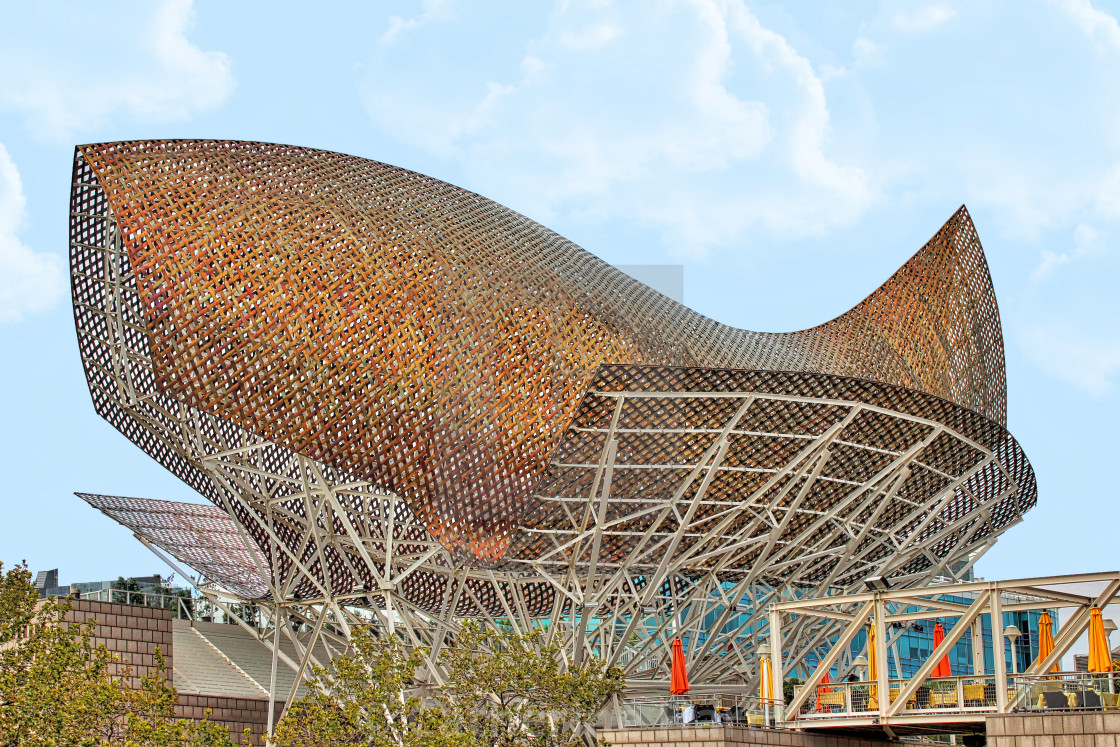Barcelona - Fish by Gehry - License, download or print for £15.00 | Photos  | Picfair