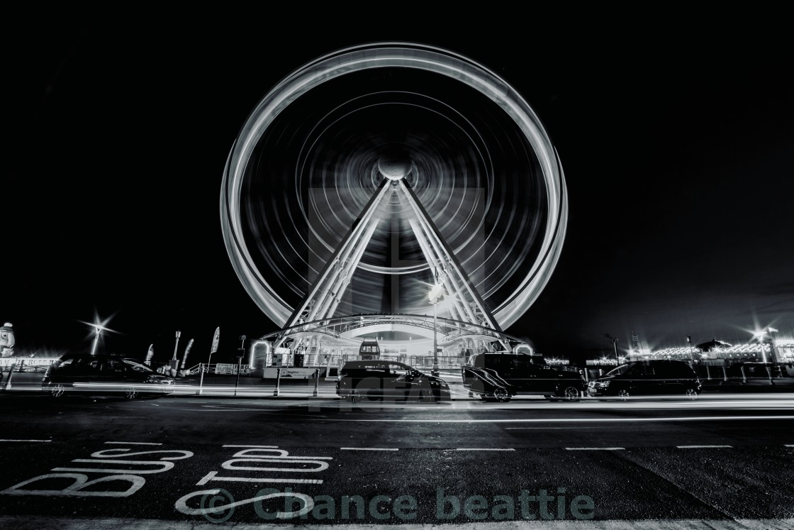 """Brighton wheel"" stock image"