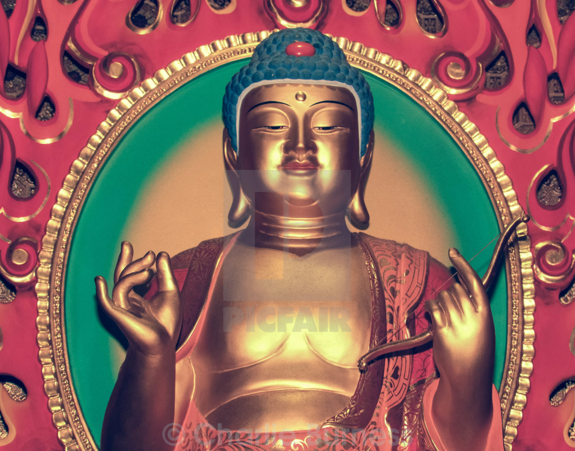 """Buddha in Close Up"" stock image"
