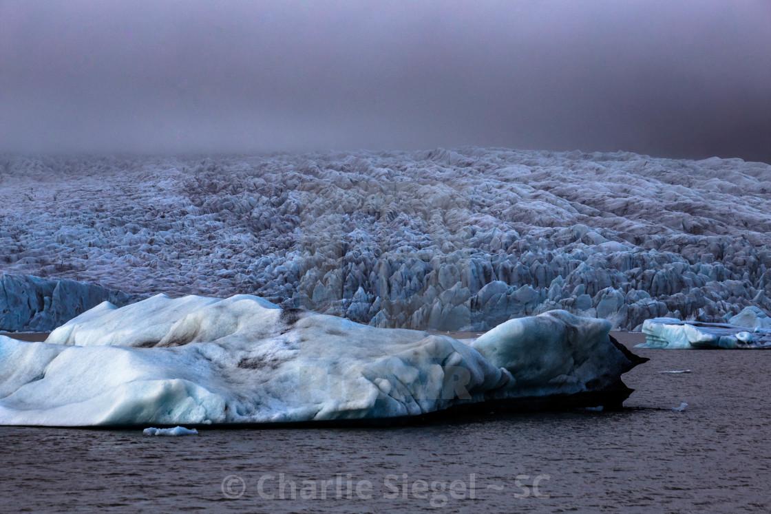 """Vatnajokull Glacier Iceland"" stock image"