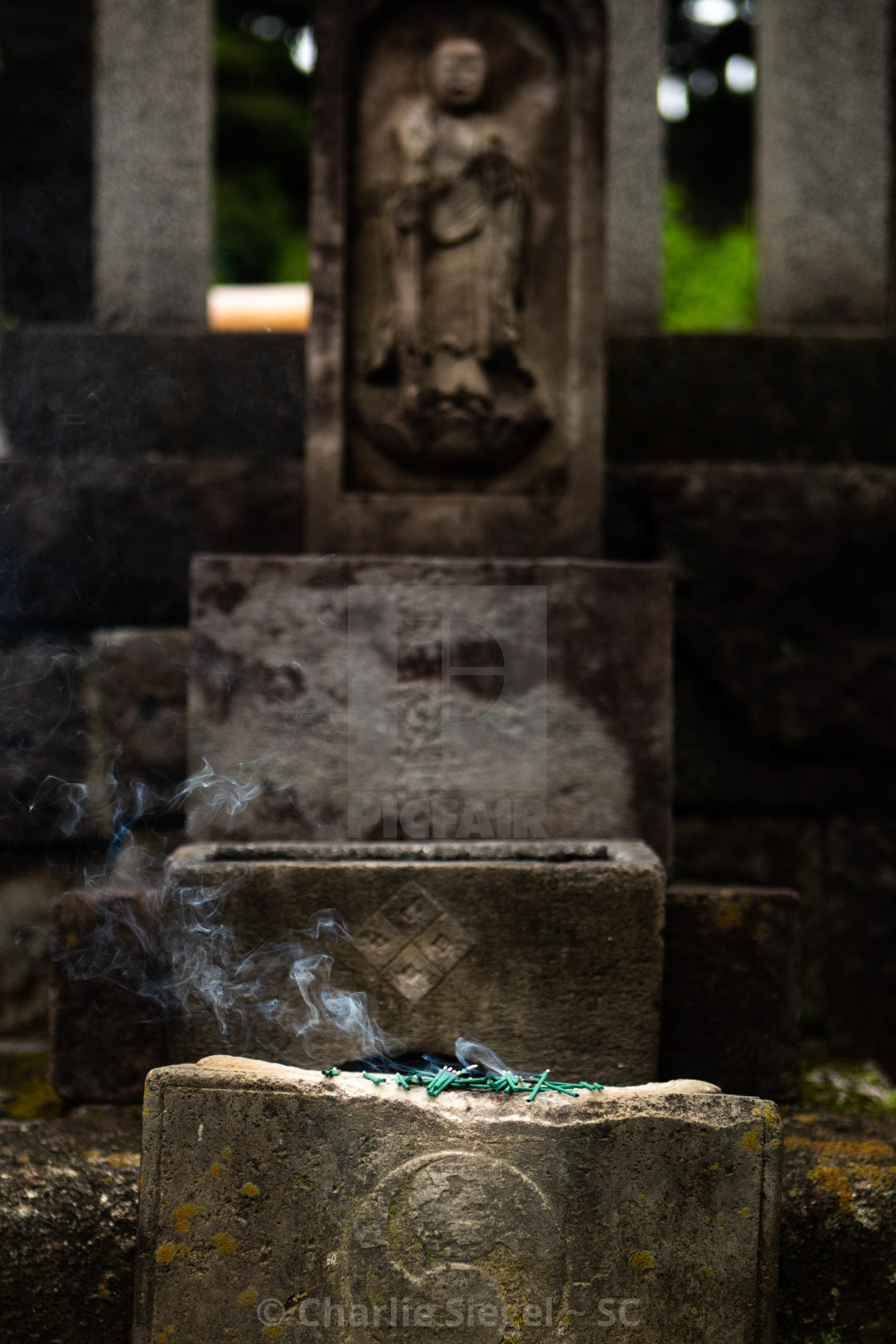 """47 Ronin Gravesite at Sengakuji Temple Japan"" stock image"