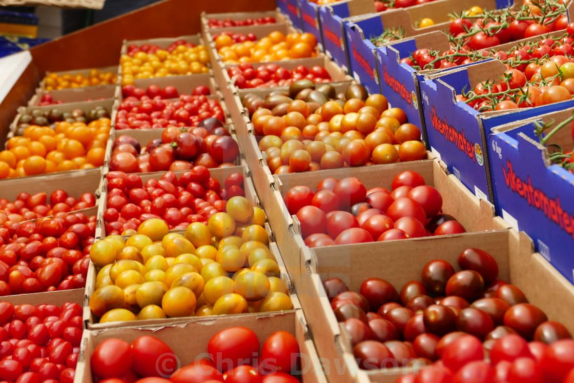 """Tomato varieties"" stock image"